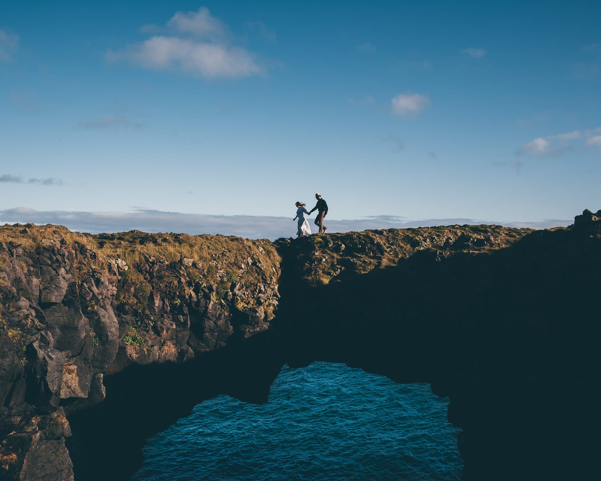 Destination-Wedding-Photographer-Iceland-Arnarstapi-Cliffs-MathiasBrabetz-8
